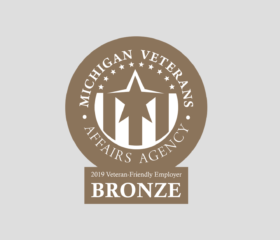 MICHIGAN<br/>VETERANS AFFAIRS AGENCY BRONZE CERTIFICATION